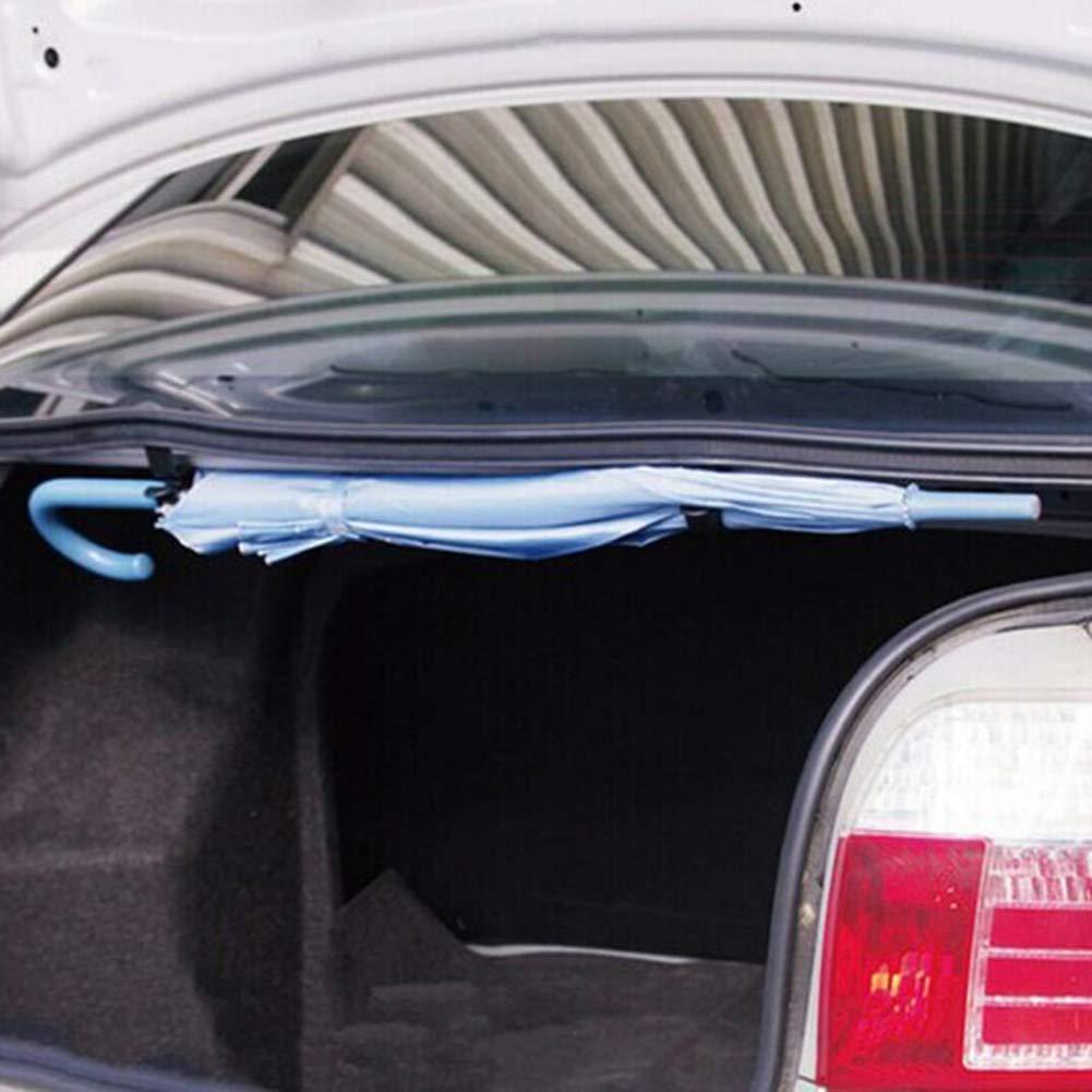 CAheadY 2 Teile//Satz Regenschirm Halter Stamm Organizer Auto Hinten Montagehalterung Handtuchhaken Black