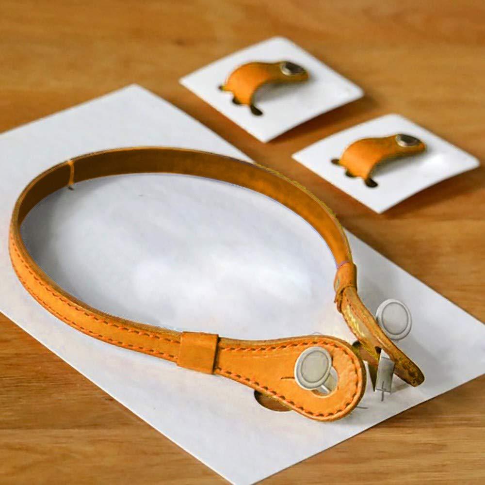 EnjoCho Unisex Fashion Solid Color Earphone Neck Holder Hang Halter Earphone Cover