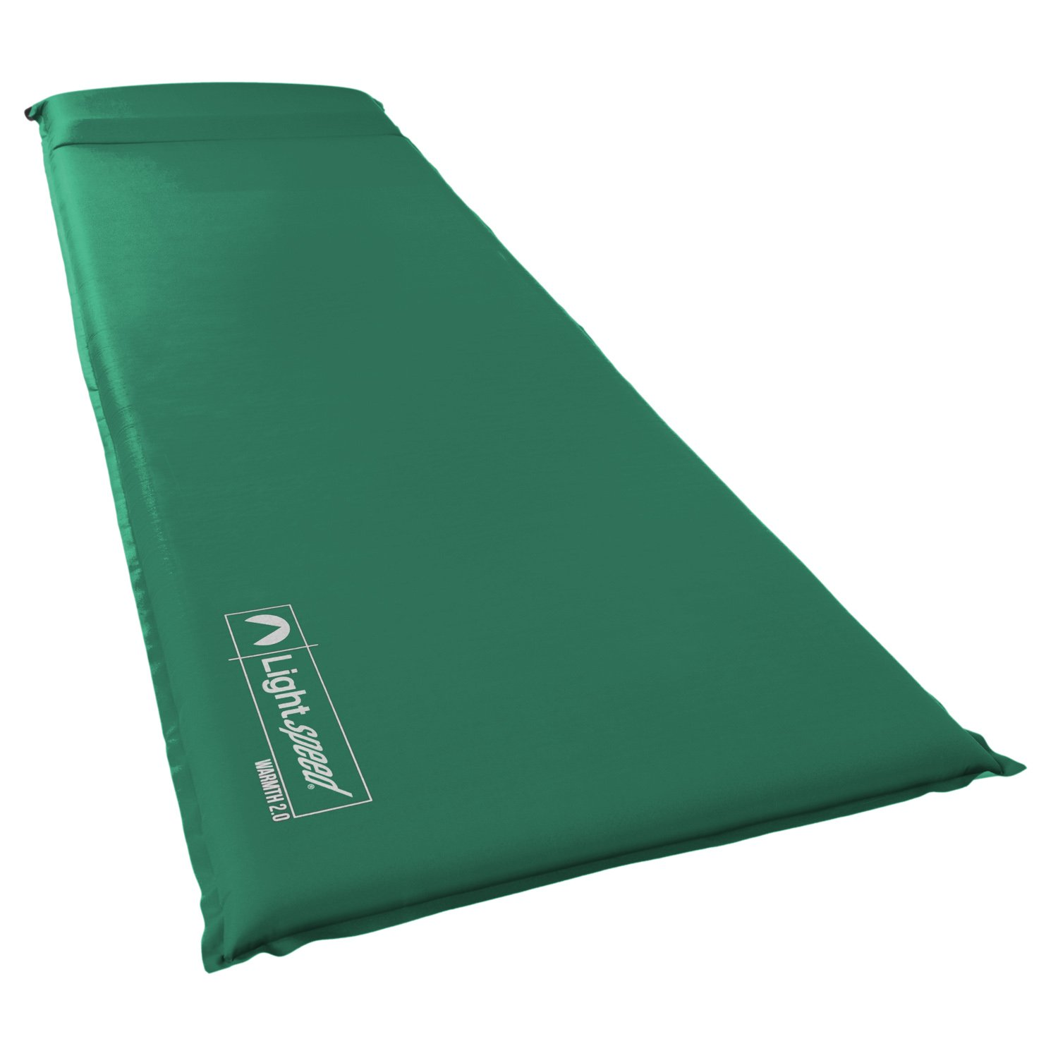 Lightspeed Outdoors Warmth Series Self Inflating Sleep Camp Pad (1.5) by Lightspeed Outdoors