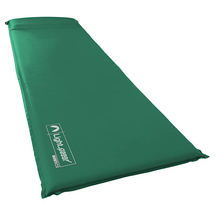 Lightspeed Outdoors Warmth Series Self Inflating Sleep Camp Pad