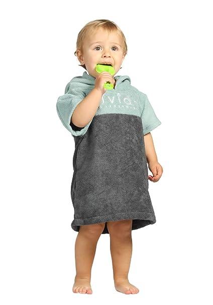 Vivida Lifestyle - Poncho con Capucha para niños (Toalla para Cambiar, Playa, baño