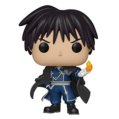 Funko Pop Animation: Full Metal Alchemist - Colonel Mustang Collectible Figure, Multicolor - 30698: Toys & Games