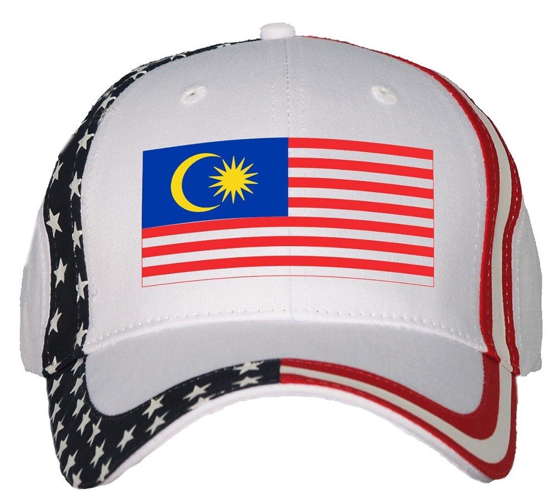 Amazon Malaysia Flag USA Flag Hat Cap Clothing