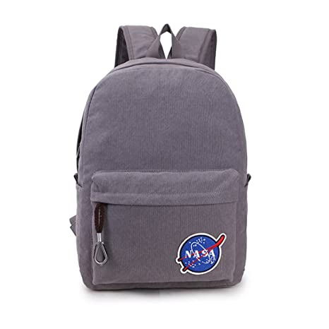 Amazon.com  FLR Backpack Bag Large Grey Laptop Computer Bag College ... b616cbaab4d5a