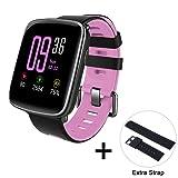 DIGGRO GV68 Smart Watch Bluetooth Montre intelligent de Sport IP68 MTK2502D Moniteur de Fréquence Cardiaque Sommeil Podomètre Rappel Sédentaire Contrôle Musique & Caméra Anti-perte pour Android et IOS