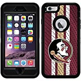 Florida State Jersey design on Black OtterBox Defender Series Case for iPhone 6 Plus and iPhone 6s Plus