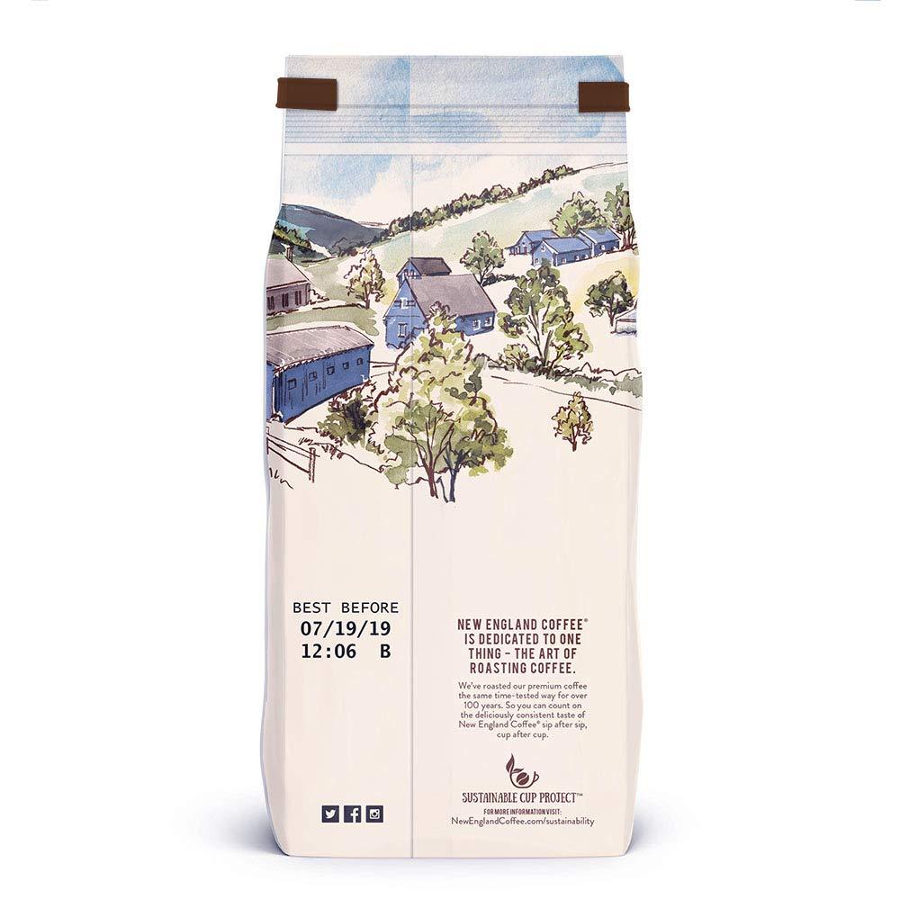 New England Coffee Blueberry Cobbler, Medium Roast Ground Coffee, 11 Ounce Bag by New England Coffee (Image #10)