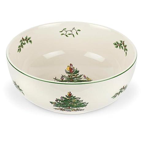 Spode Christmas Tree Serving Bowl, 9-Inch - Amazon.com Spode Christmas Tree Serving Bowl, 9-Inch: Deep Serving