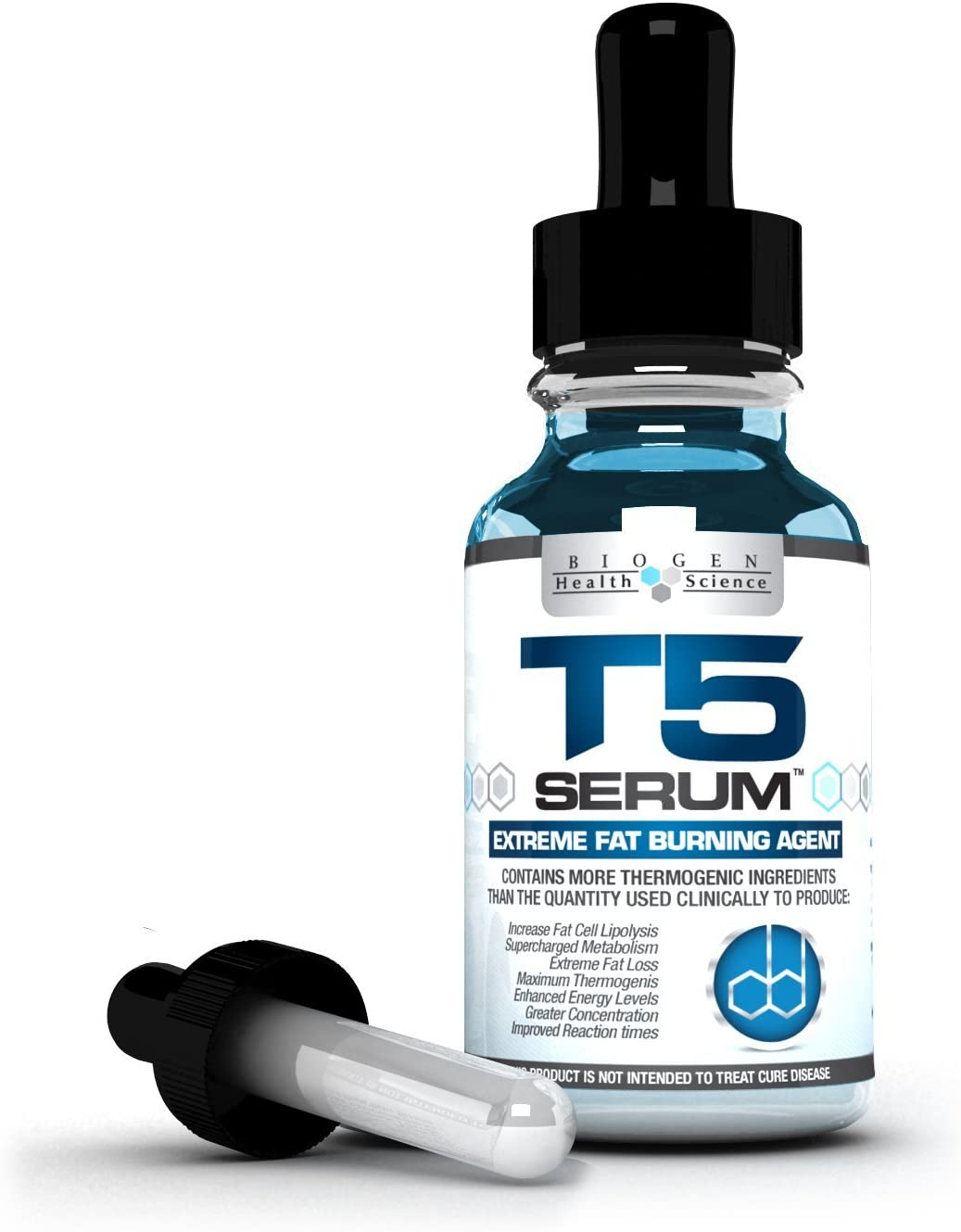 Biogen Health Science Biogen Health Science T5 Fat Burners Serum XT Maximum Strength Fast Acting