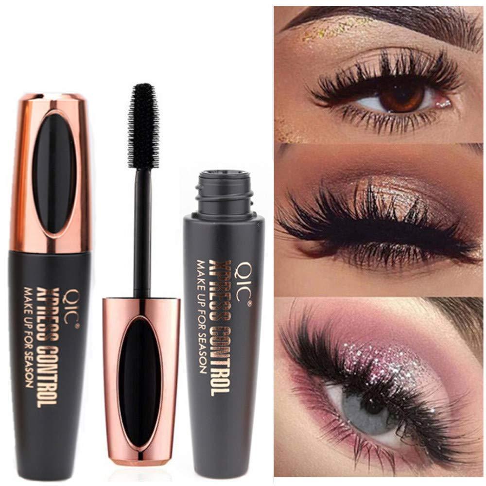 Hohaski Artistic Volume Mascara, 4D Waterproof Makeup Eyelash Extension, Sweat proof Long Curling Thick, Long-Lasting, Dramatic Extension No Clump Cruelty Free