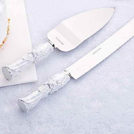 Juego de cuchillos y servidor para tartas con grabado ...
