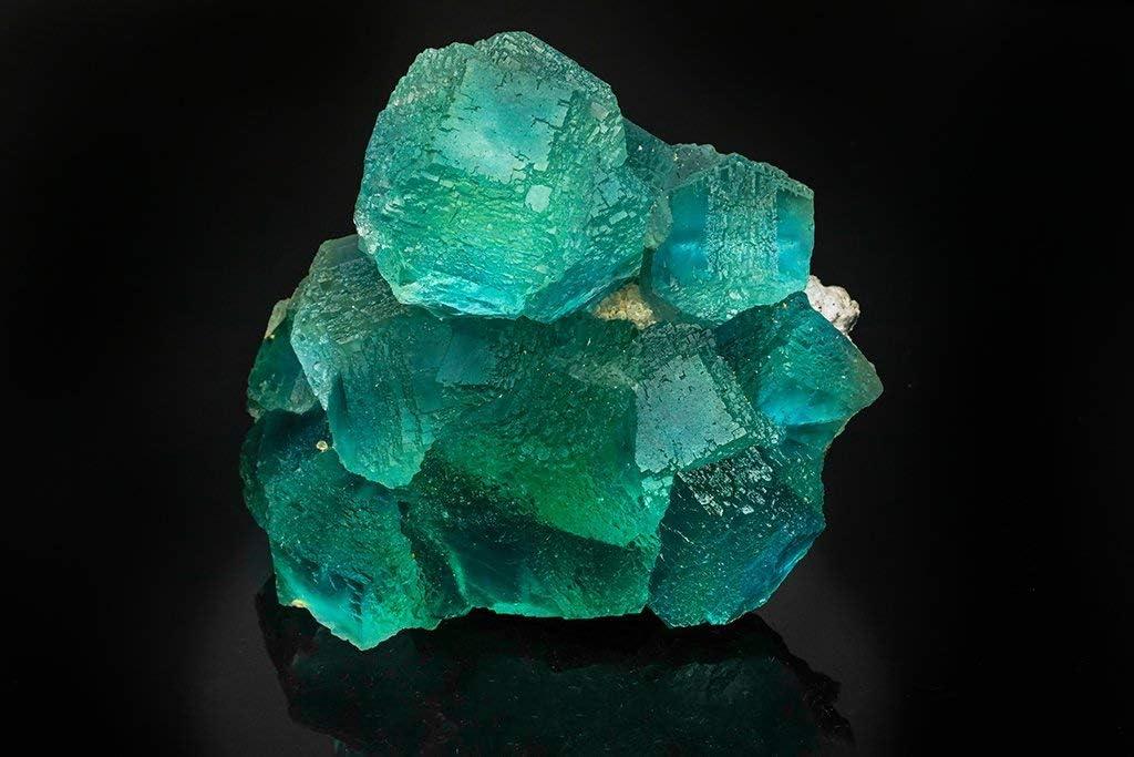 Galería de Gemas Astro de fluorita Azul Verde de Las Viesca, Asturias, España (2.5 Libras): Amazon.es: Hogar