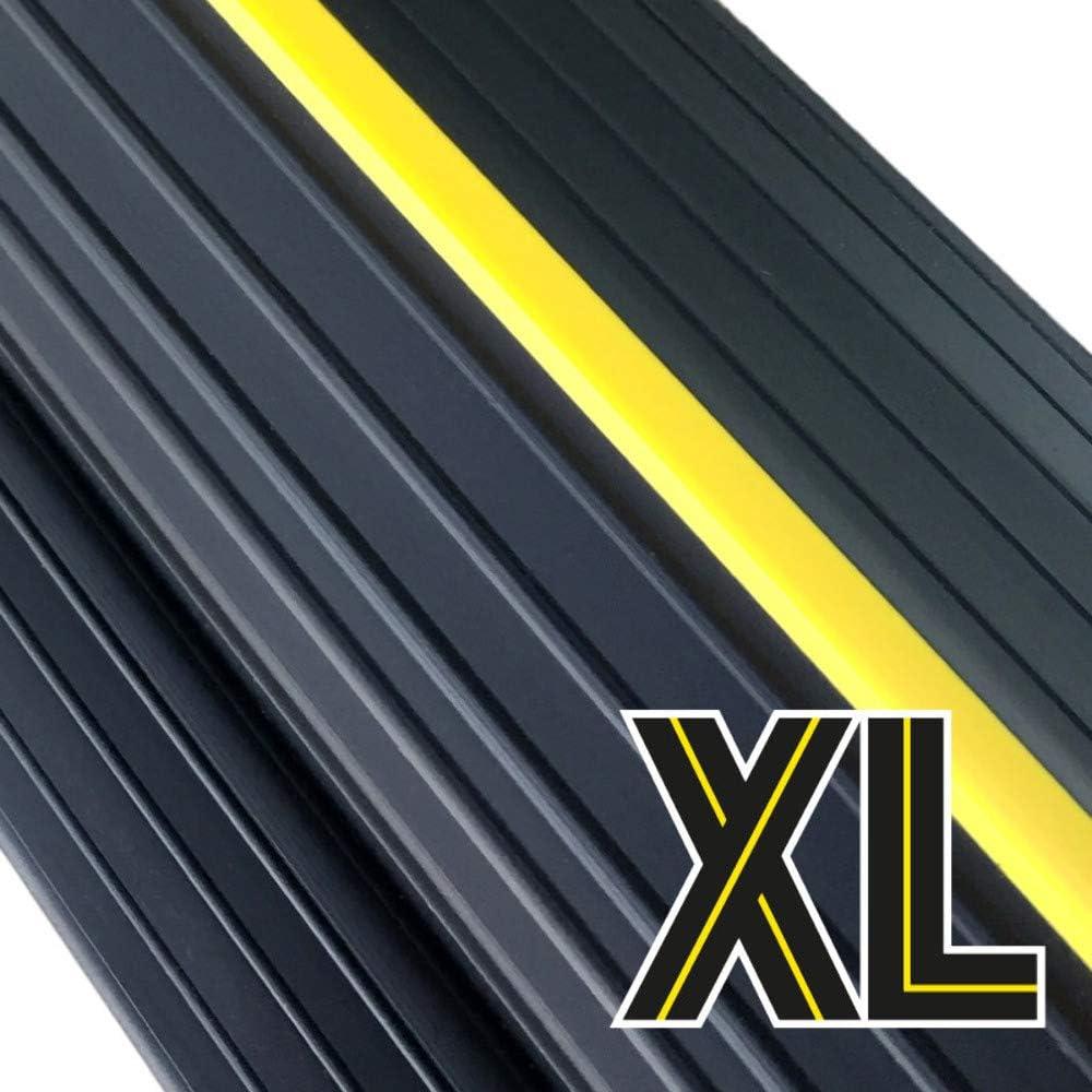 """Weather Defender XL Garage Door Threshold Floor Seal 20'8"""" Including 3 Adhesives"""