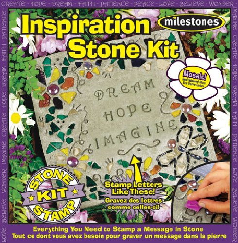 Midwest Products Inspiration Stepping Stone Kit (Craft Kit Garden)