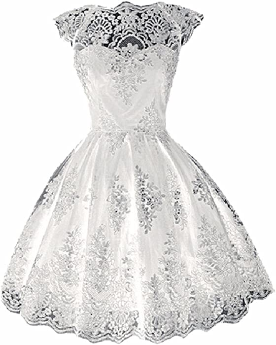 White Cocktail Dresses Prom