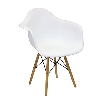 silla eames silla tower daw blanco varios colores vaukura - Eames Silla