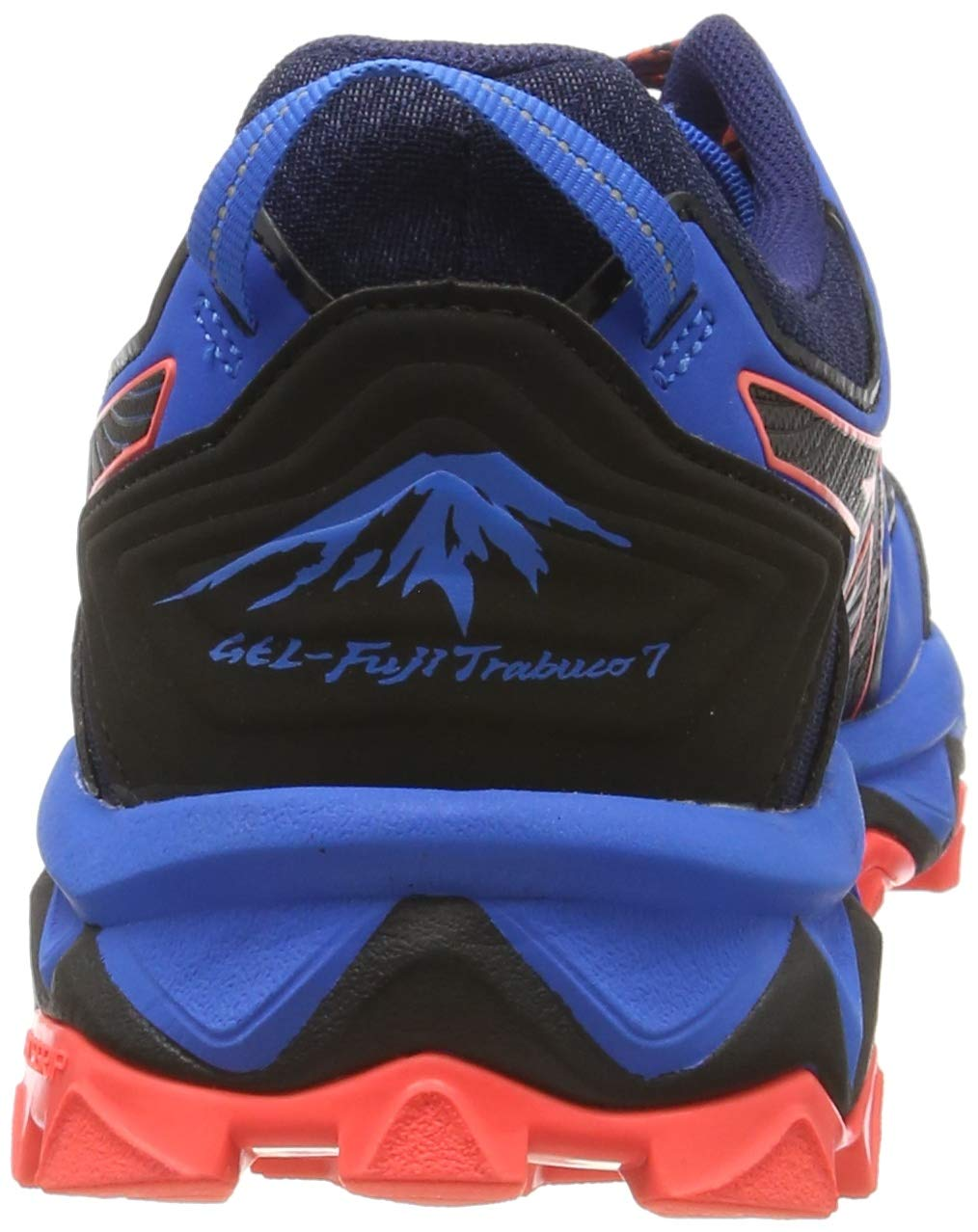 Asics Herren Frequent Trail Turnschuhe Laufschuhe Sneaker Marineblau Low Sport