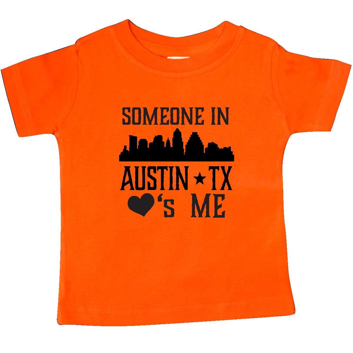 inktastic Austin Texas Someone Loves Me Skyline Baby T-Shirt