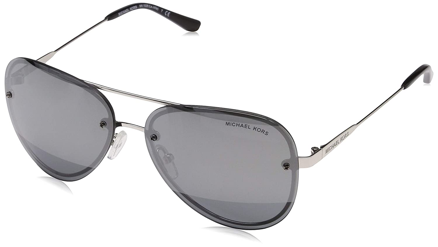 53985c387ffc Michael Kors MK 1026 11181Y SILVER-TONE at Amazon Men s Clothing store