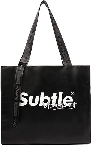 Subtle MainStreet FEVER Large Tote Bag OBSIDIAN