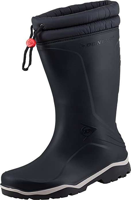 De Dunlop Para Caucho Calzado Negro Protección Hombre gYf7v6by
