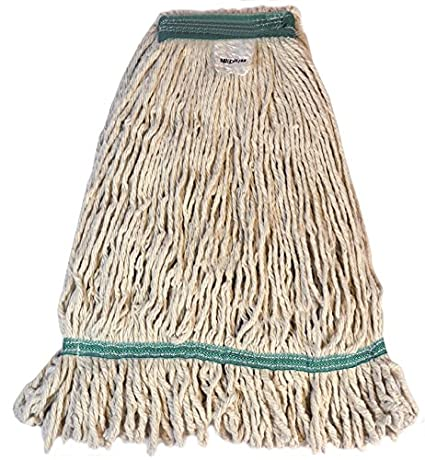 Pack of 12 Golden Star ACB18SITGG Synergy Dust Mop Head with Combination Style Backing