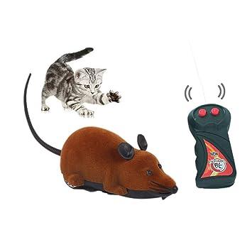 Spielzeug RC Elektrische Ferngesteuerte Ratte Maus mit Fernbedienung Haustier Katzen Hunde Haustierbedarf