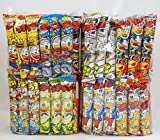 Assorted Japanese Junk Food Snack ''Umaibo'' 100 Packs of 11 Types (2 Package Set of 50 Packs)