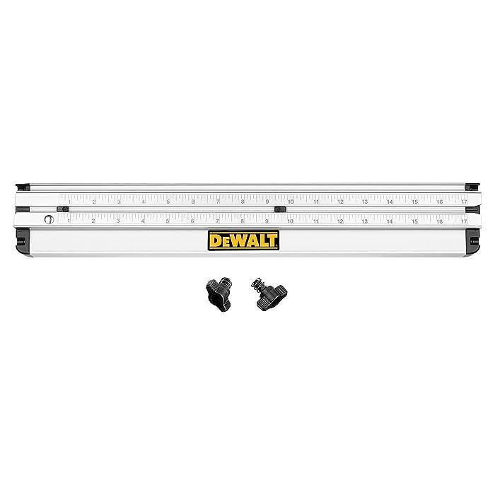 DEWALT DWS5100 12-Inch Dual-Port Folding Rip Guide