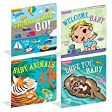 Constructive Playthings WKM-50 Indestructible Books: Word Books Set of 4, Grade: Kindergarten to 3