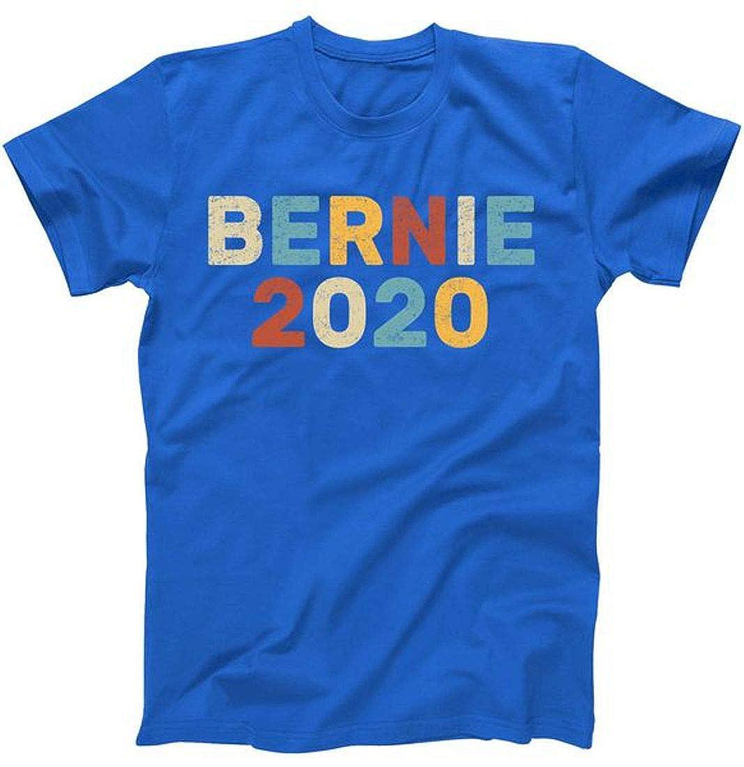Bernie 2020 Sanders Vintage Colorful Logo T-Shirt