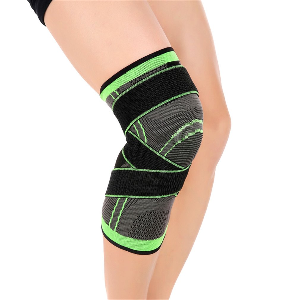 Outdoor Sports Safety Protection KneePads Breathable Sweat Absorb Hiking Basketball Knee Pads Kneelet