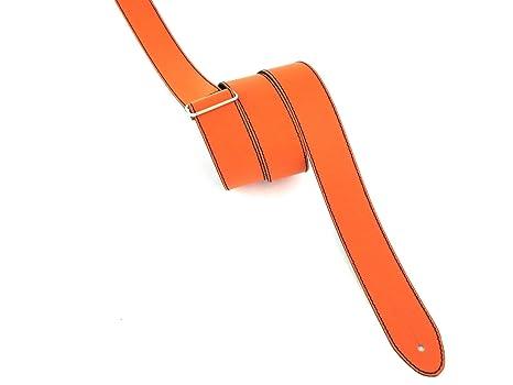 Correa para guitarra y bajo de cuero, 8 cm de ancho, estilo personalizado T503S