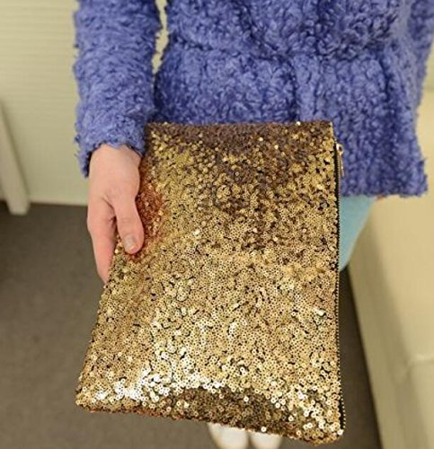 Clutch Whyyudan Evening Luxury Party Glittering Purse Bag Hand Bag Sequinned AT8BRqr8c
