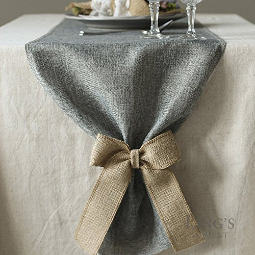 Itu0027s A Natural And Rustic Feel Table Runner. Durable, Lightweight, Easy To  Carry, Store, Practically WRINKLE FREE And Machine Washable.