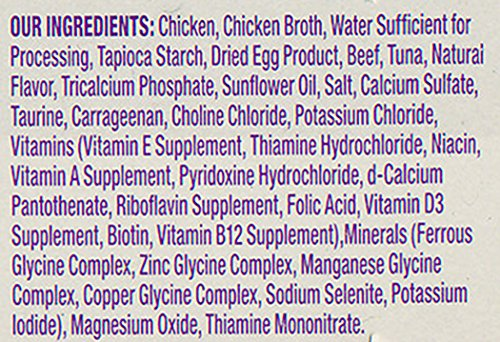 Wellness Signature Selects Natural Canned Grain Free Wet Cat Food, Shredded Chicken & Beef, 2.8-Ounce Can (Pack of 24)
