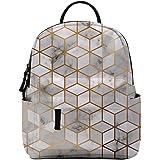 Backpack for Girls,Deanfun 3pc/set Water Resistant College Teenage Print School Backpacks