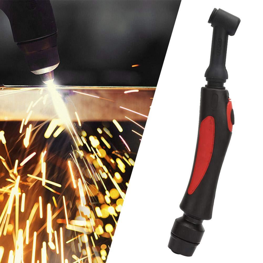 accessoire de soudage TIG refroidi /à lair de corps de t/ête flexible de torche 200A Corps de t/ête de torche de soudage WP-26 TIG