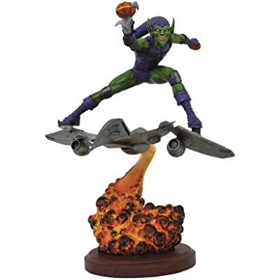 DIAMOND SELECT TOYS Marvel Premier Green Goblin Resin Statue, Multicolor: Toys & Games