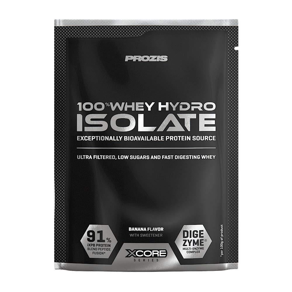 Xcore Sachet 100% Whey Hydro Isolate SS 31 g Plátano: Amazon ...