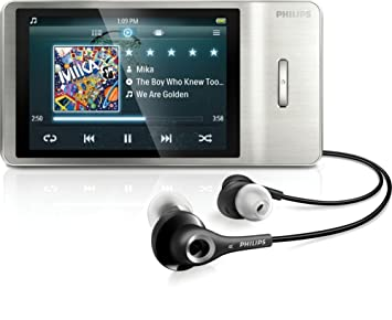 philips gogear mp4 player sa2mus32s 02 muse 32gb silver amazon co rh amazon co uk Philips GoGear 2GB Philips GoGear MP4 Player Battery