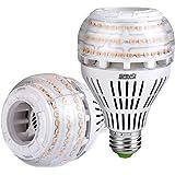 27W (250 Watt Equivalent) A21 Dimmable LED Light Bulbs, Super Bright 4000 Lumens, 3000K Soft Warm White Bulb, 270° Omni-Direc