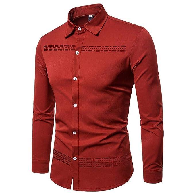Camisa de Estampado en Caliente Covermason Blusa Hueca de ...