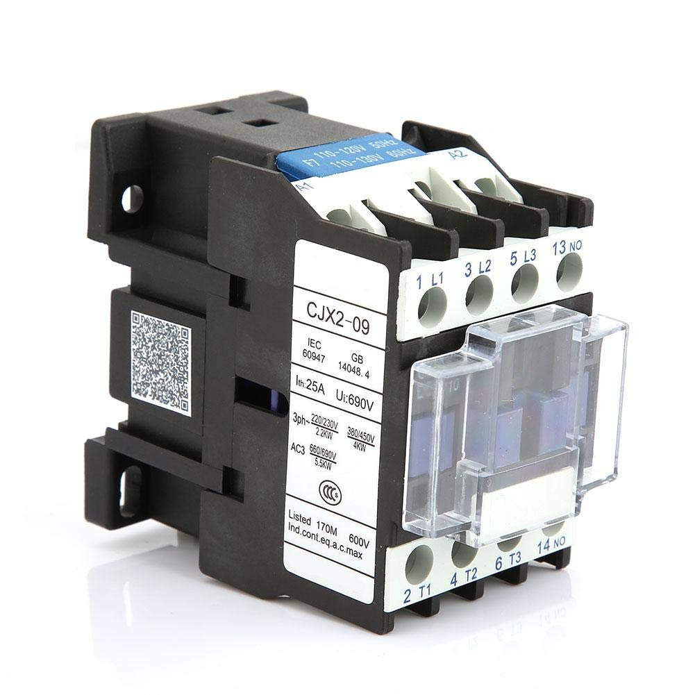Industrial Electric Contactor with High Sensitivity DIN Rail