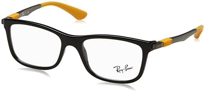 4ee70d2942af Amazon.com: Ray-Ban RY1549 Eyeglass Frames 3733-48 - Black RY1549 ...
