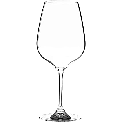 Riedel 6409/0 Heart To Heart Non-leaded Cabernet Sauvignon Wine Glasses, Set of 2