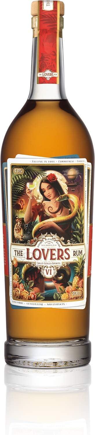 The Lovers Rum Ron - 700 ml: Amazon.es: Alimentación y bebidas