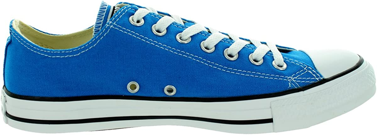 Converse Chuck Taylor All Star Ox, Baskets Mixte Adulte Blu Bleu Petant