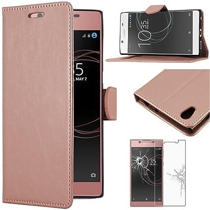 uk availability e20da b6570 ebestStar - Sony Xperia L1 Case L1 Dual PU Leather: Amazon.co.uk ...