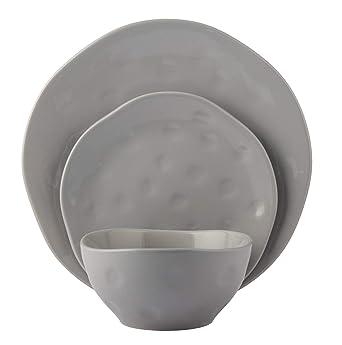 Amazon.com: Melange - Vajilla de cerámica: Industrial ...